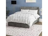 Brittany Upholstered Bed Frame double