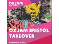 Venue Managers Needed for Oxjam Music Festival (Volunteer)