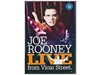 Joe Rooney LIVE from Vicar Street DVD - Never used