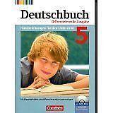Deutschbuch Handreichungen