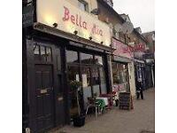 Waiters , Pizza chefs, Chefs and Kitchen porters Required For Bella Mia Battersea and North Finchley