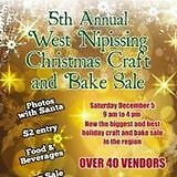 5th Annual West Nipissing Christmas Craft and Bake Sale