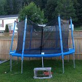 12' TRAMPOLINE WITH ENCLOSURE FOR SALE