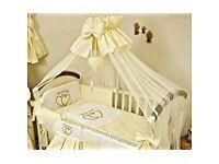 Brand New, not used Baby Cot Canopy Drape with stand