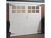 Garage Doors - timber. NEW.