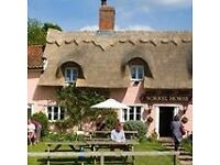 Second Chef / Kitchen Assistant for The Sorrel Horse Inn, Shottisham IP12 3HD