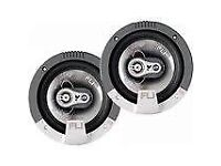 "fli 4"" integrated car audio speakers new in box"