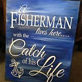 Handpainted Canvas Signs
