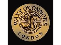 Waxy O'Connors London - Deputy Manager (Live-In)