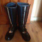 Retro Motorbike Boots