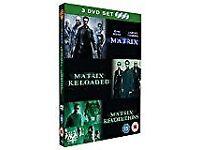 MATRIX BOX-SET (All 3 movies) VGC