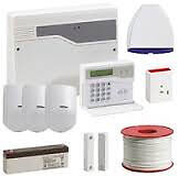 Honeywell Burglar Alarm System with sensor pir supplied & fitted £350 and cctv cameras