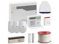 Honeywell Burglar Alarm System with sensor pir supplied & fitted £350 and cctv cameras