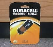 Duracell 128GB Usb 2.0 Flash Drive - New