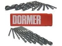Unused Dormer Drill Bits - Taper