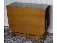 Genuine 1950's table, chairs and sideboard