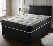 Memory mattress with Divan base and headboard