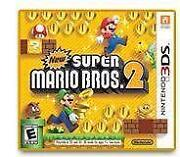 Nintendo 3DS Games Super Mario Bros 2