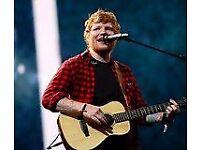 Ed Sheeran Cardiff Principality Stadium Friday22nd June 2018