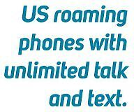 US roaming plans for Canadian traveler unlimited talk,text,Data