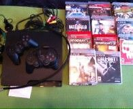 Playstation 3 with 10 games and accessories