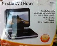 "Portable Dvd Player 8"" LCD screen"
