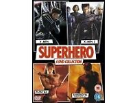 Superhero box set 4 DVDs