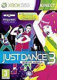 Xbox 360 Kinect Games Just Dance 3