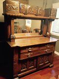 Buffet des annees 1870 a vendre. Buffet from 1870's for sale