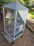 Bird Cage suit sml parrots 1.5m high on castors - sturdy build Australind Harvey Area Preview