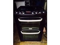 £109.00 cannon black ceramic electric cooker+60cm+3 months warranty for £109.00