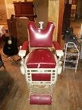 Antique Barber's Chair Windsor Region Ontario image 1