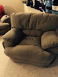In good shape Couch Loveseat and Chair