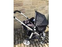 Icandy Apple 2 pear 3 in 1 pram pushchair travel system caviar
