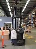 Crown Reach Forklift in Excellent Condition