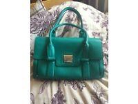 'Fiorelli' Handbag. Green/Teal. New nevere used