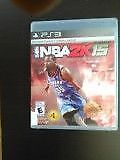 2015 NBA 2K PS3 GAME FOR SALE *CHEAP*