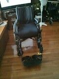 Wheelchair: only one year old