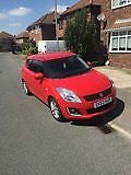 Suzuki Swift 1.2 3 door Hatchback Red Petrol One owner since new