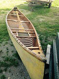 15 ft cedar lined canoe