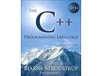 The C++ Programming Language, 4th Edition Paperback Book by Bjarne Stroustrup THE creator of C++