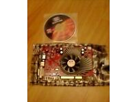 ATI Sapphire X1550 DD2 AGP Graphics Card with VGA S-Video and DVI out