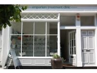 Treatment/Massage/Therapy/Consulting Rooms To Let at Emporium Treatment Clinic.