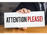 Seeking reception/customer service work in hotel/travel agency
