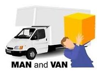 Man and Luton van removal service**£15 p/h 24/7....on short notice