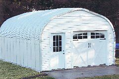 Brand new 16 x 24 Steel Garage with Baseplates and 2 skylights