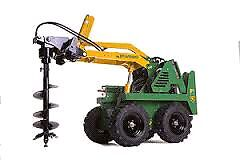 Auger drive for mini loaders $99 per day Padstow Bankstown Area Preview