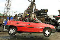 scrap vehicle removal of unwanted junkers