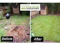 WE ARE THE GARDEN DOCTORS-OVERGROWN GARDENS JUST CALL US TODAY!!!