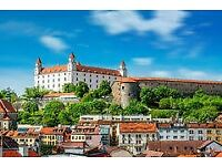 Join Us For A Coach Trip To Bratislava, Wednesday 18th July